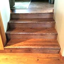 how to install vinyl plank flooring on stairs stair treads marvelous design with