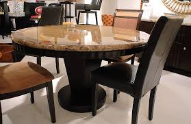 plain decoration granite top dining table set valuable round for ideas 10