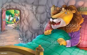 Le Renard Et Le Lion Malade Vecteurs libres de droits et plus d'images  vectorielles de Art - iStock