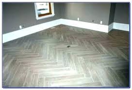 herringbone tile floor kitchen pattern black herringb