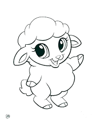 Cute Coloring Pages Of Animals Cute Coloring Page Cute Animals