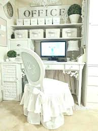 shabby chic office ideas. Chic Office Chairs Of Furniture Shabby Fantastic Reception Desk Ideas Ed White