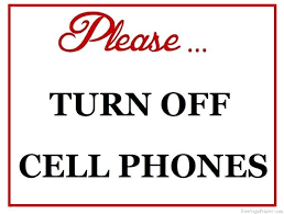 No Cell Phones Sign Printable Turn Off Cell Phone Sign Freeletter Findby Co