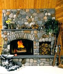 lava rock fireplace removal update placement gas