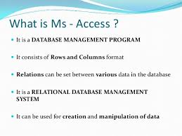 What Is Microsoft Access Microsoft Access