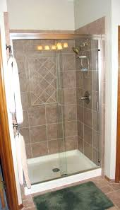 shower kits with doors prefab shower stall shower stall kits with glass doors