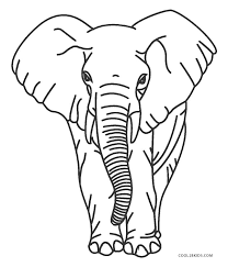 Children's coloring pages and connect the coloring pages are fun for children of all ages and are a great educational tool that helps children. Free Printable Elephant Coloring Pages For Kids