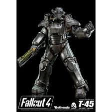 Power Armor Display Stand Collector's Club ThreeZero Fallout 10000 100100th Scale T100005 Power Armor 75