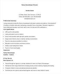housekeeper resume sample housekeeping resume example 9 free word documents  download housekeeper resume sample no experience