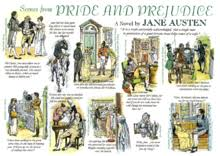 pride and prejudice  scenes from pride and prejudice by c e brock
