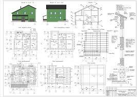 Курсовые и дипломные проекты коттеджи дачи скачать котедж в dwg  Курсовой проект Мансардный жилой дом в с