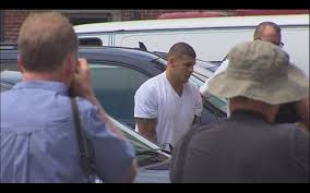Aaron Hernandez pleads not guilty to murder charges.