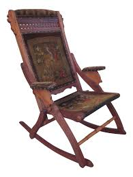 vintage furniture manufacturers. Vintage Used Wood Rocking Chairs Chairish Antique Folding Manufacturers Victorian Eastlake Chair Furniture