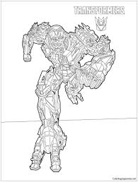 Transformers Lockdown Coloring Page Http Coloringpagesonly Com