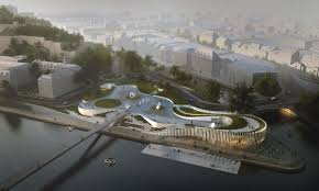 Smart City Design Competition 3xn Architects Win International Competition To Design