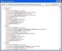 Viewing Xml File View Xml Files Easily With Xmlgridviewcontrol Codeproject