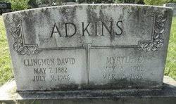 Myrtle Florence Gouge Adkins (1902-1989) - Find A Grave Memorial