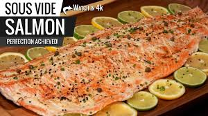 Salmon Sous Vide Chart Sous Vide Salmon Perfection How To Cook The Best Salmon Ever