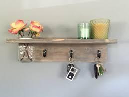 Mason Jar Key Shelf