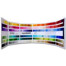 Kona Cotton Solids 340 Color Card Chart 8 17 K001 Robert Kaufman Fabrics