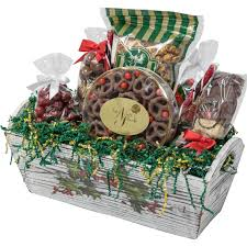 naper nuts sweets wooden holly box with treats