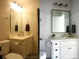 i started in on the kids bathrooms back in february shiplap was concept of seafoam bathroom accessories