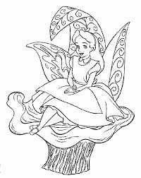 Free Printable Alice In Wonderland Coloring Pages For Kids ...