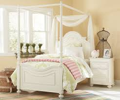 Charlotte Twin Size Poster Bed with Canopy 3850-4433K | Legacy ...