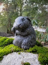 Rabbit Statue, Garden Rabbit Statue, Bunny Rabbits Statue, Concrete Rabbit,  Cement Rabbit Statues, 5 inch Bunnies, Rabbit Statues, Figures