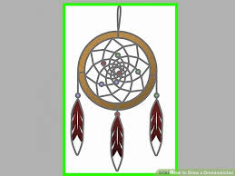 Drawn Dream Catchers How to Draw a Dreamcatcher 100 Steps with Pictures wikiHow 18