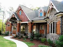 Image of: Modern Rustic House Plans