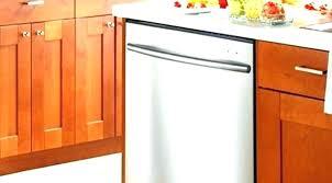 attaching dishwasher