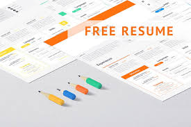 Clean And Minimal Resume Template Graphic Ghost