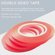 Güçlü (0.2mm Kalın), 1mm 25mm * 25M Akrilik Yapıştırıcı Çift Taraflı Bant  Seçin için iphone batarya Telefonu Ekran Lens LCD ekran|adhesive double  sided tape|adhesive tape double sidedtape double sided - AliExpress