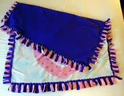 Craft Projects - No Sew Fleece Blanket Samples at Exploring ... & Craft Projects - No Sew Fleece Blanket Samples at Exploring Womanhood's  Heart of the Home Channel Adamdwight.com