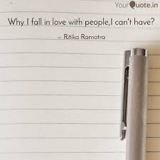 What If I Fall Quote Classy Why I Fall In Love With P Quotes Writings By R Time YourQuote