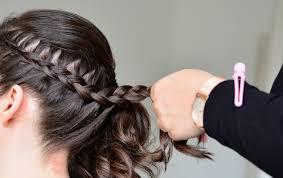 Idee De Coiffure Facile Tresse Cheveux Tressé Pour Bapteme