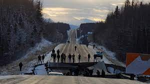 Alaska earthquake: Photos show damage ...