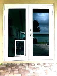 sliding glass doors insulation dog door insert patio pet