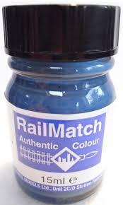 Railmatch Paints Colour Chart Railmatch 622 Lner Garter Blue Enamel New 15ml Jar
