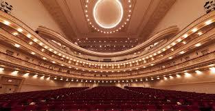 Carnegie Hall New York Stern Auditorium Perelman Stage