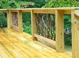 simple deck railing unique natural wood deck railing designs diy deck railing planter bo