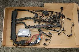 e34 m50 ecu and wiring harness non vanos 5 speed $175 Wiring Harness Terminals and Connectors at M50 Wiring Harness For Sale