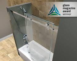 frameless sliding shower doors tub. Serenity_slider_3 Frameless Sliding Shower Doors Tub L