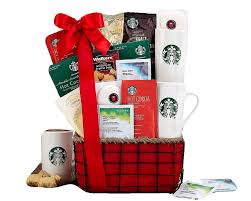 amazon starbucks coffee and tazo tea gift basket by wine country gift baskets gourmet gift items grocery gourmet food