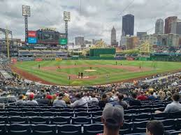 Pnc Park Section 115 Home Of Pittsburgh Pirates