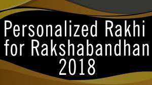 personalized rakhi for rakhshabandhan 2018 handmade rakhi gifts for brother pt edics gifts
