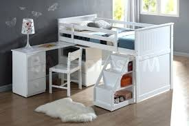 loft bed with desk and trundle captivating white bunk bed with desk kids bunk beds with