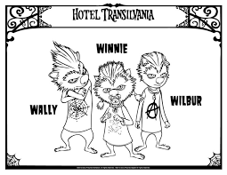 Coloring Pages Ideas Hotel Transylvaniaoring Pages Torrent Free