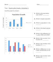 Reading Charts And Graphs Worksheets Free Graphs Worksheets Ozerasansor Com